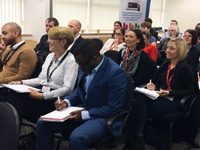 It was lovely to see so many new faces at the recent Triaster 'Breaking the Chains' event
