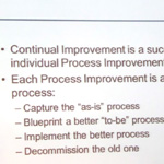 Open Forum Events Conference - Continuous Improvement: Change for the Better